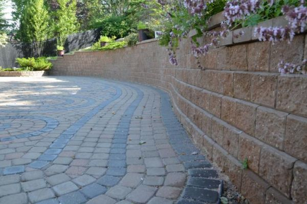 Segmental Retaining Wall Design Calculations : A green future for landscaping calgary landscaper